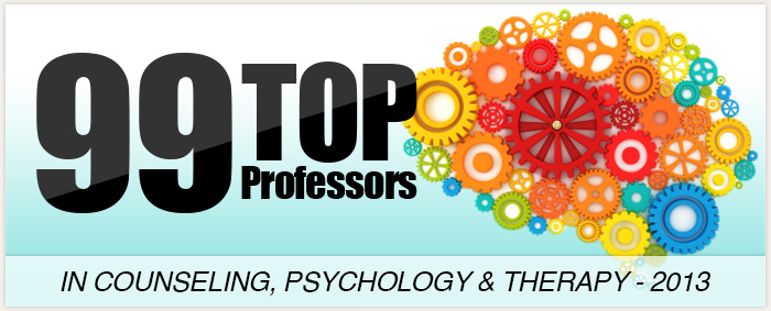 99 Top Professors in Counseling, Psychology & Therapy